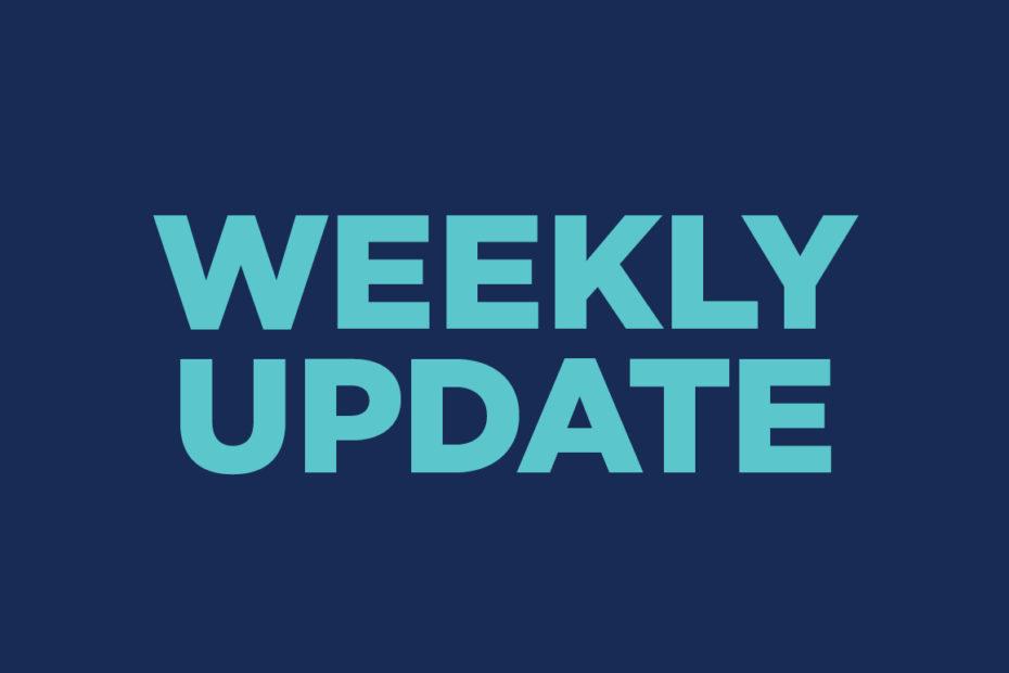 weekly update: december 29